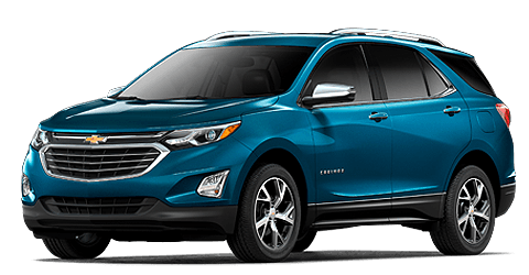teal blue 2021 Chevy Equinox