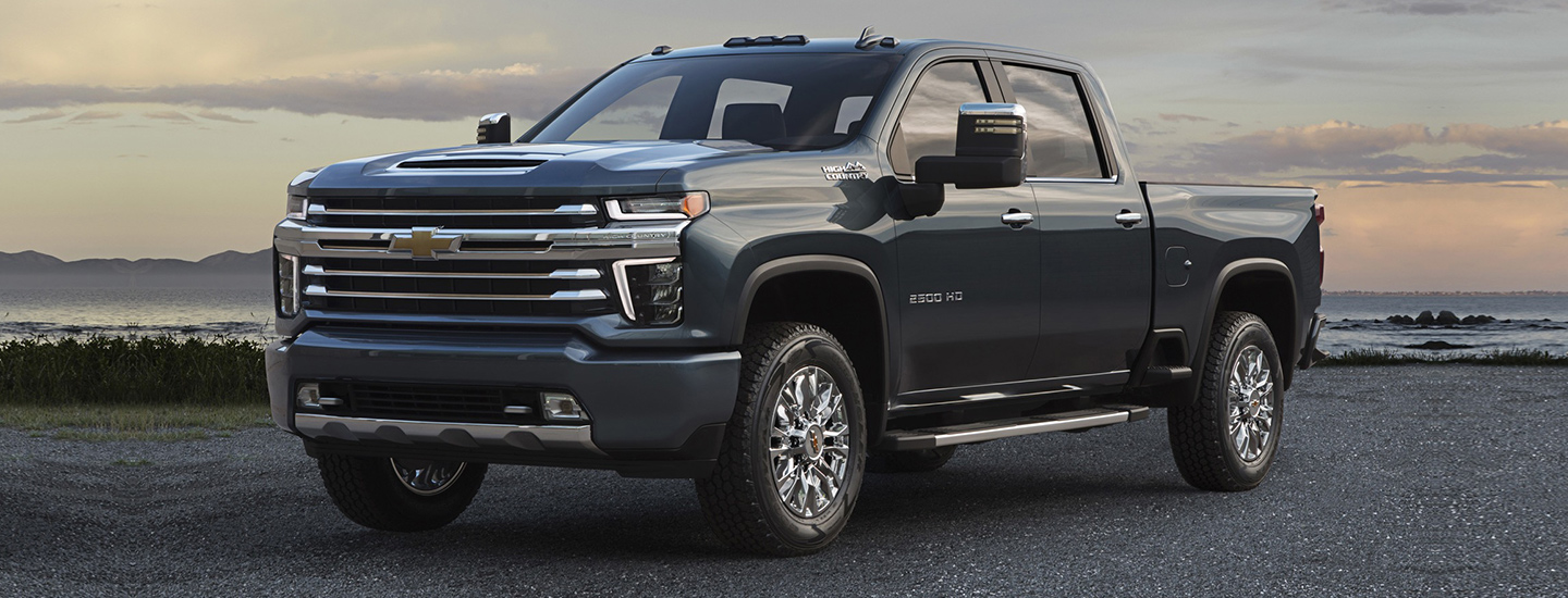 The All-New 2020 Silverado 2500HD at DeFOUW Automotive