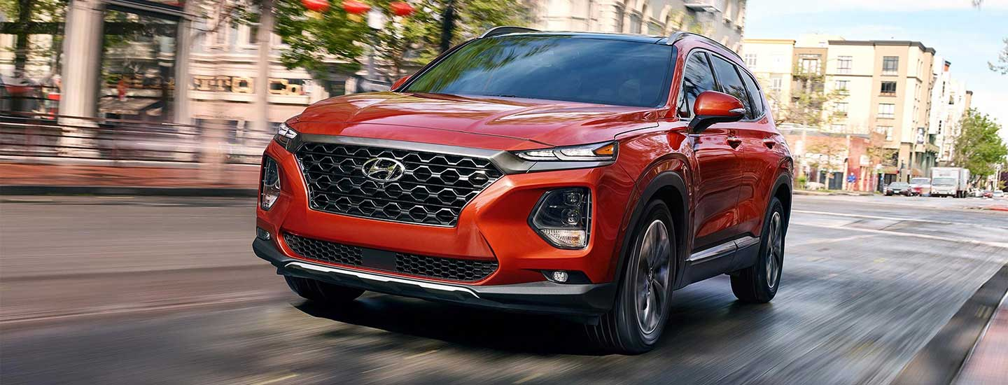 Redesigned 2019 Hyundai Santa Fe Hyundai Dealer Near Pittsburgh Pa