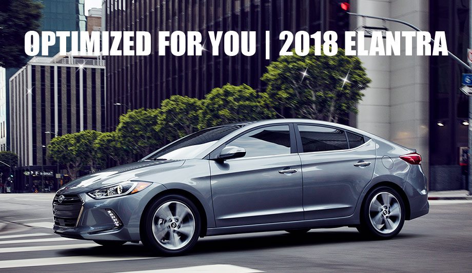 The 2018 Hyundai Elantra is available at North Freeway Hyundai near Houston, TX
