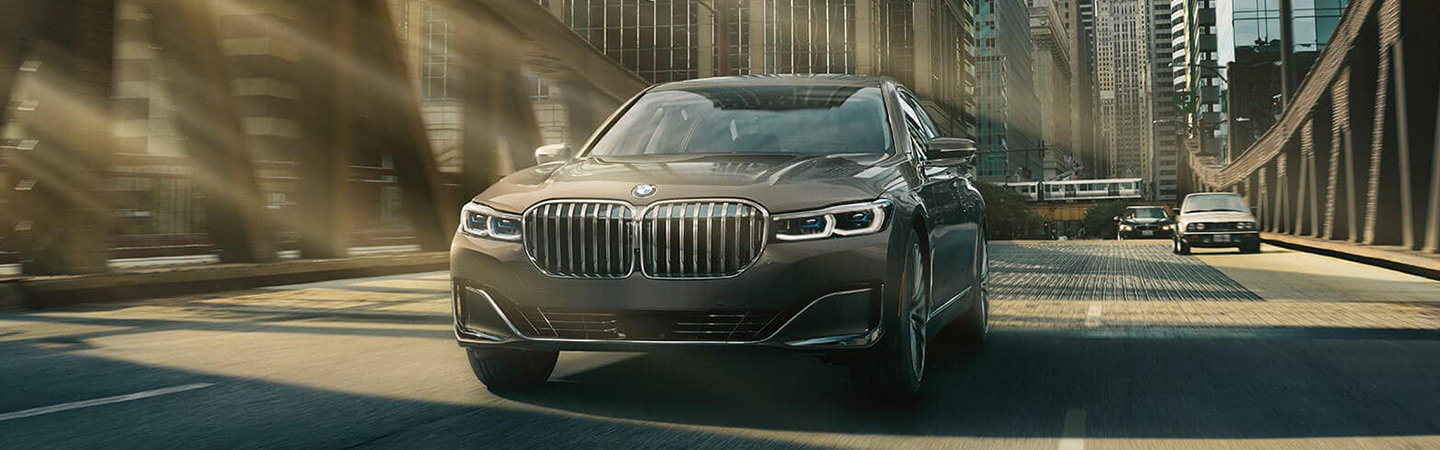 Exterior of the 2020 BMW 7 Series available at Santa Monica BMW