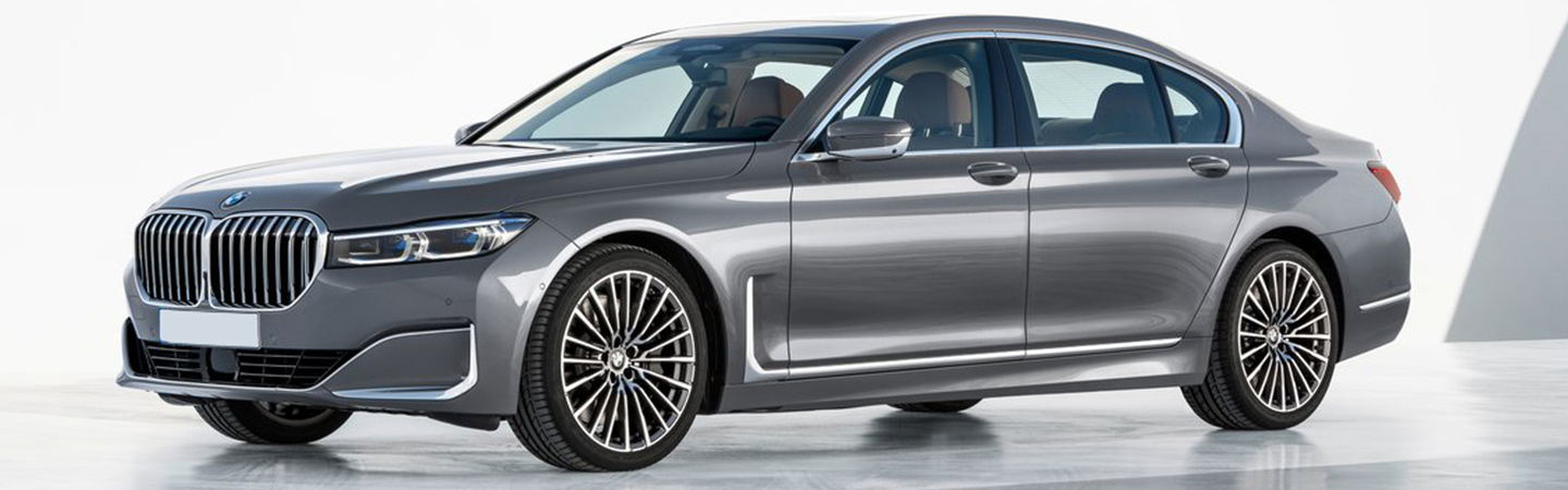 Exterior of the 2020 BMW 7 Series in Santa Monica, CA