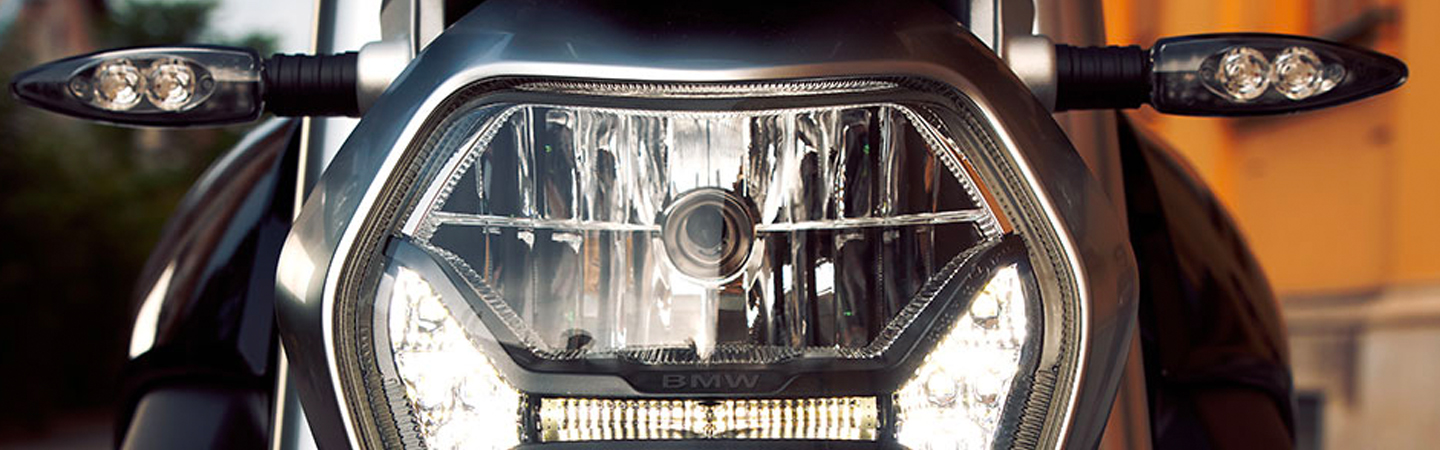 Front light of the 2020 BMW 1250 R