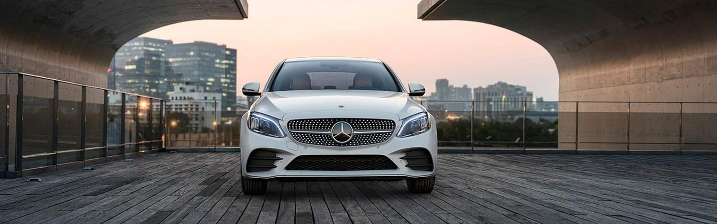 Front view of the 2020 C-Class