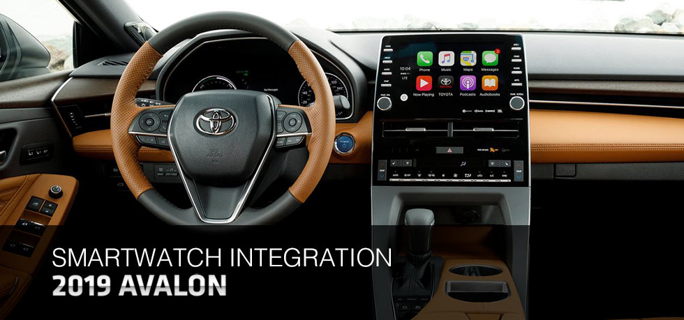 Safety features and interior of the 2019 Toyota Avalon - available at Lipton Toyota near Hollywood and Fort Lauderdale, FL