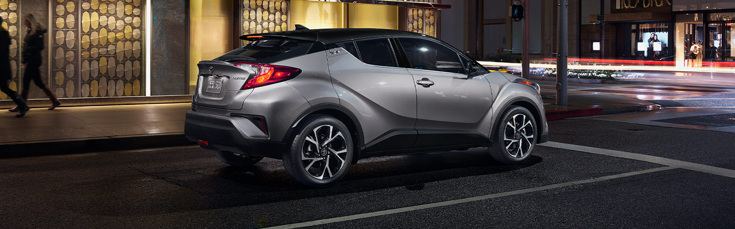 Exterior of the 2019 Toyota C-HR in Fort Lauderdale, FL