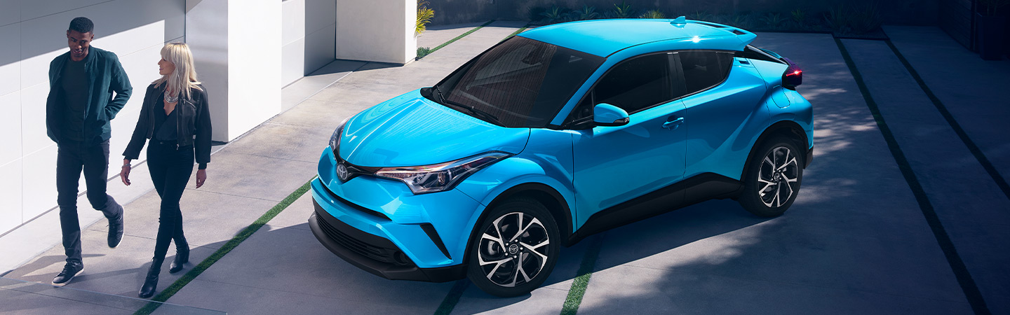 Exterior of the 2019 Toyota C-HR at Lipton Toyota