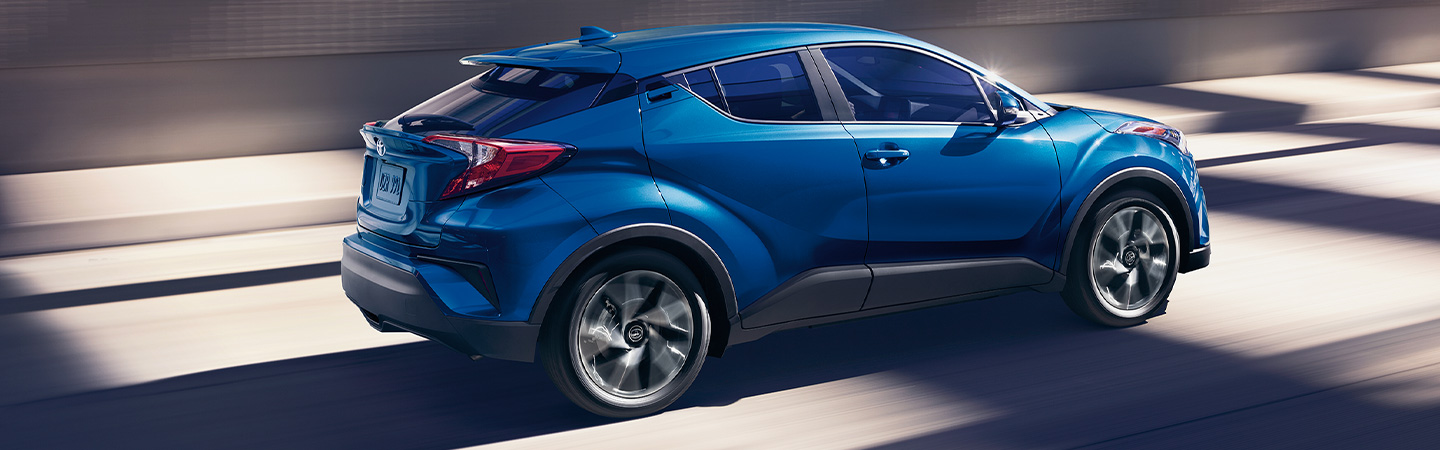 Exterior of the 2019 Toyota C-HR available at our Fort Lauderdale car dealership