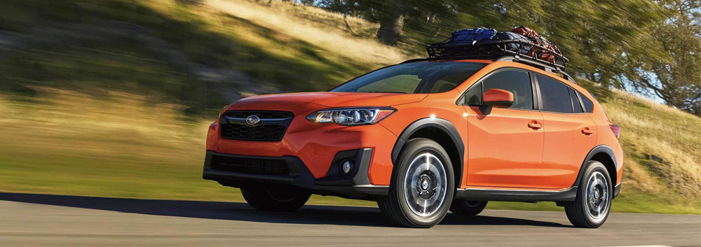 Exterior of the 2019 Subaru Crosstrek at Vista Subaru of Silverthorne near Frisco CO