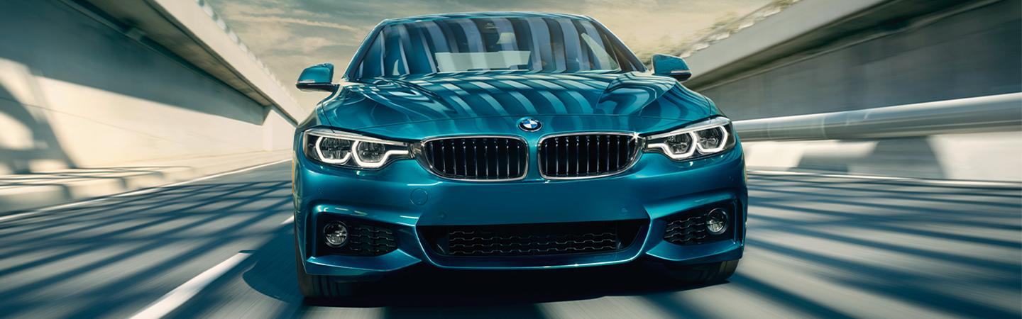 2020 BMW 4 Series in motion