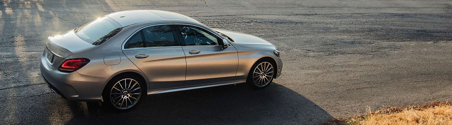 Passenger Side Profile View of the 2020 C-Class