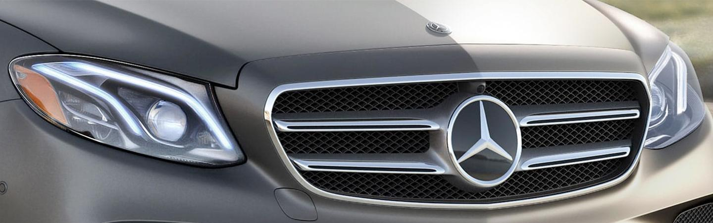 Front view of the 2020 E-Class