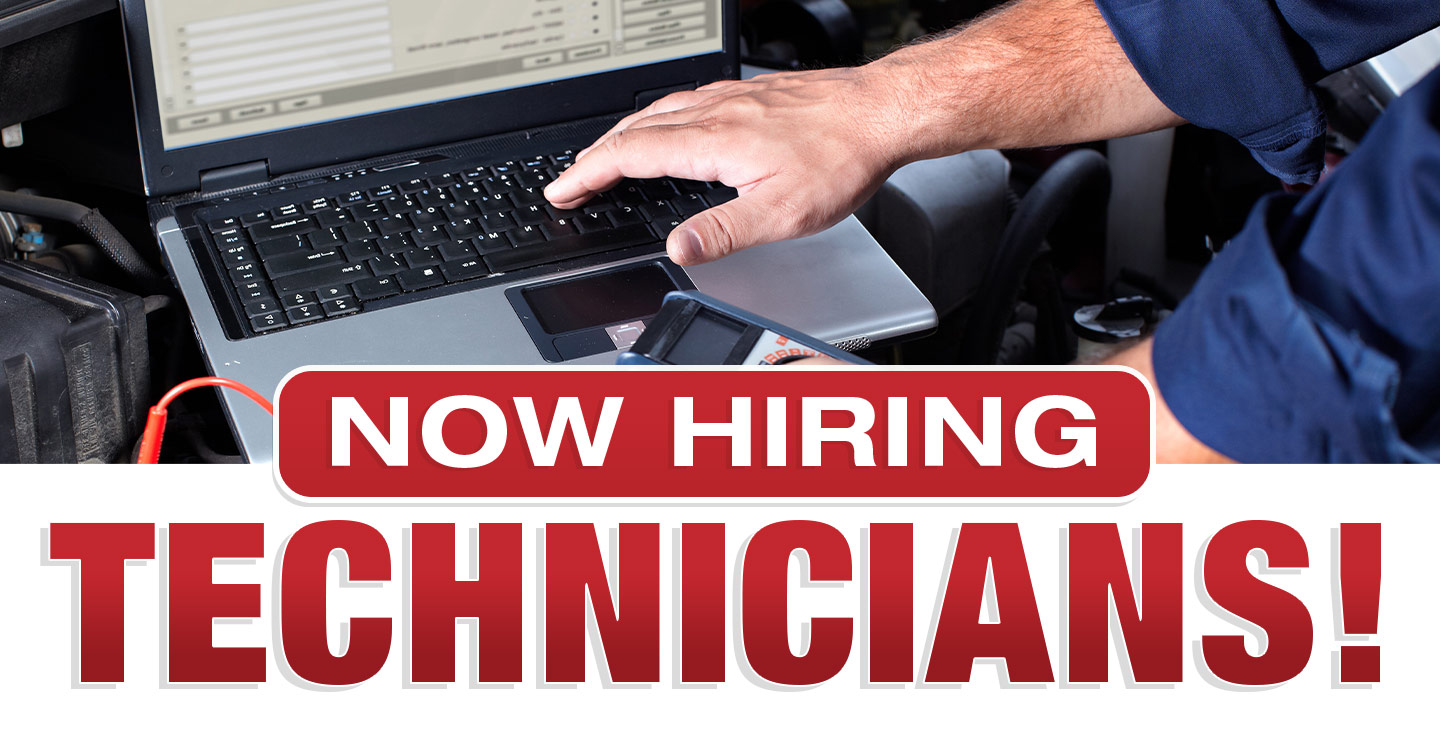 Now Hiring Automotive Technicians