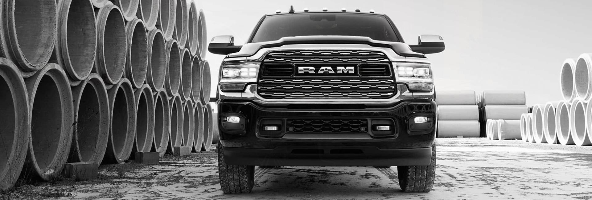 Exterior image of the 2020 RAM 2500 for sale at Spitzer Ram dealer in Cleveland Ohio