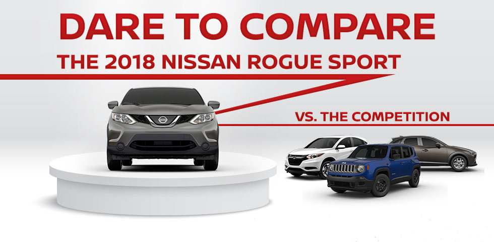 Nissan Orland Park >> 2018 Nissan Rogue Sport vs. The Competition   Zeigler Nissan