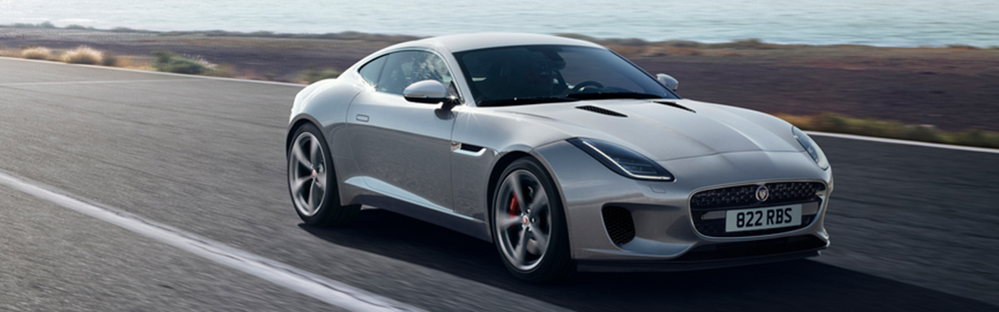 2020 Jaguar F-type in motion in Ocala, FL