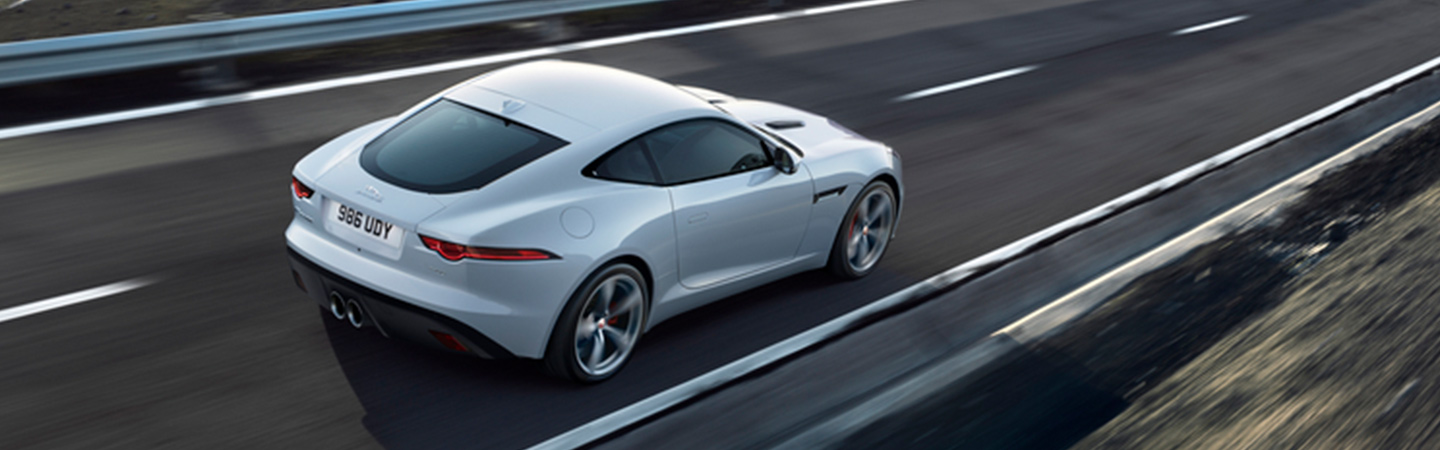 Overview of the 2020 Jaguar F-Type driving in Land Rover Ocala