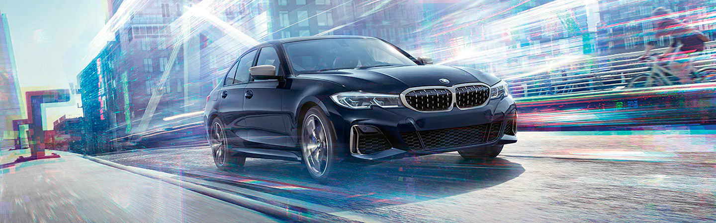 2020 BMW 3 Series in motion