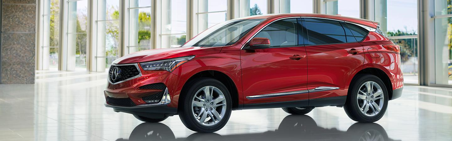 Exterior image of the 2020 Acura RDX