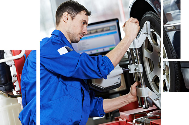 BMW Wheel and Tire Alignment Service at your preferred BMW Dealer in Columbia, SC