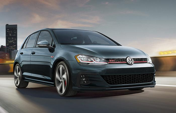 Exterior image of the 2020 Volkswagen GTI