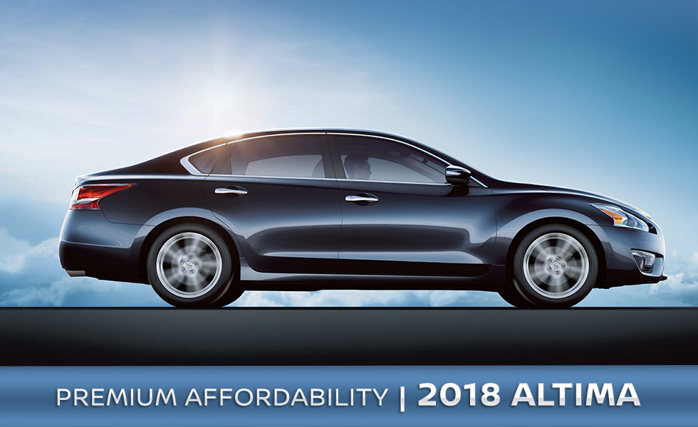 The 2018 Nissan Altima is available at Rountree Moore Nissan in Lake City, FL