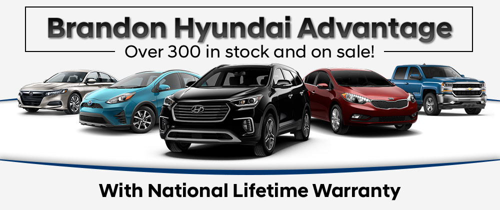 Brandon Hyundai National Lifetime Warranty