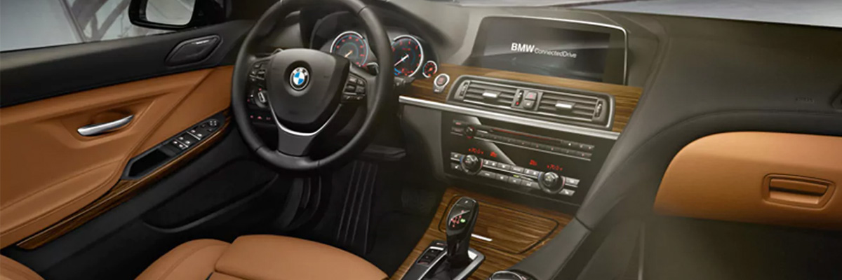 Safety features and interior of the 2018 BMW 6 Series - available at BMW of Columbia near Lexington and Irmo, SC