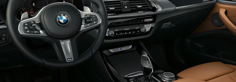 Interior of 2021 BMW X3