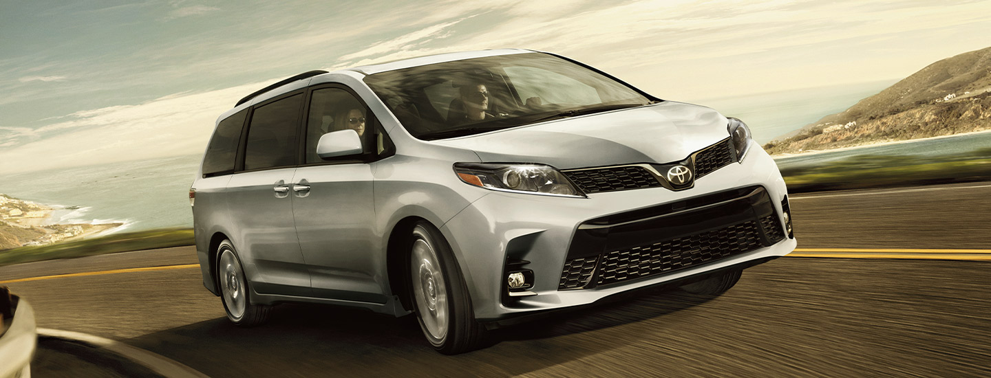 Exterior image of the 2020 Toyota Sienna available at Lipton Toyota