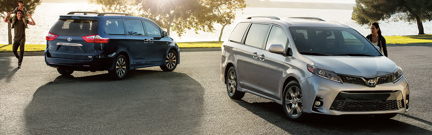 Exterior of the 2020 Toyota Sienna available at our Toyota dealer