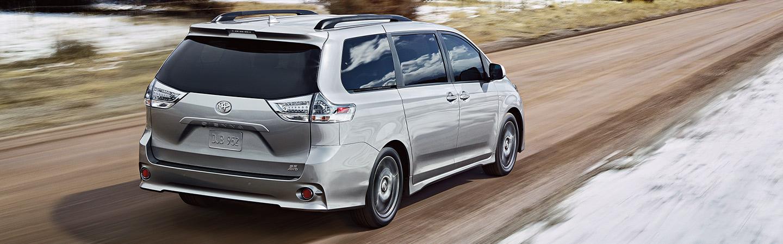 2020 Toyota Sienna in motion