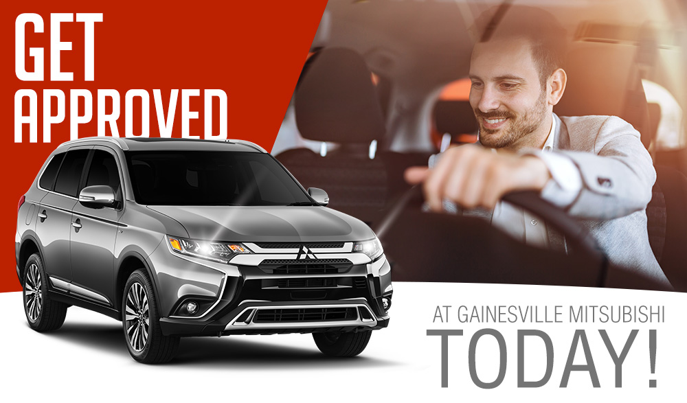 Get Approved At Gainesville Mitsubishi Today!