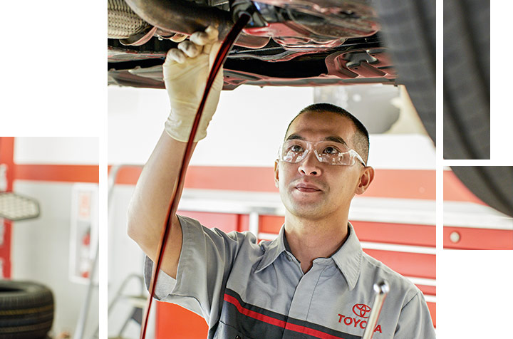 Toyota Oil Change Service at your preferred Toyota Dealership in Columbus, GA