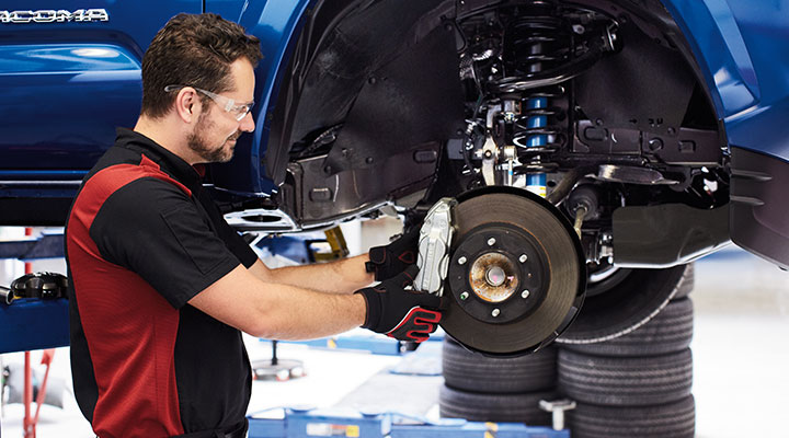 Toyota Brake Service at your local Toyota Dealership in Columbus, GA