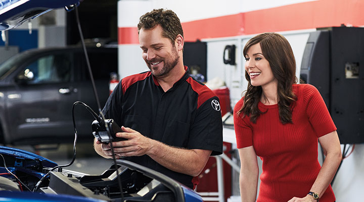 Toyota Battery Service and Replacement at your preferred Toyota Dealership in Columbus, GA