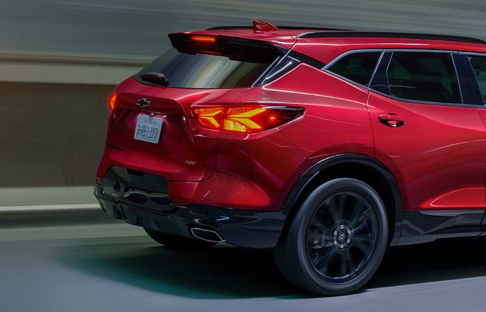Picture of the 2020 Chevy Blazer