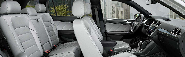 Interior side view of the 2020 Volkswagen Tiguan