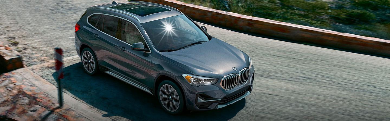 2020 BMW X1 in motion