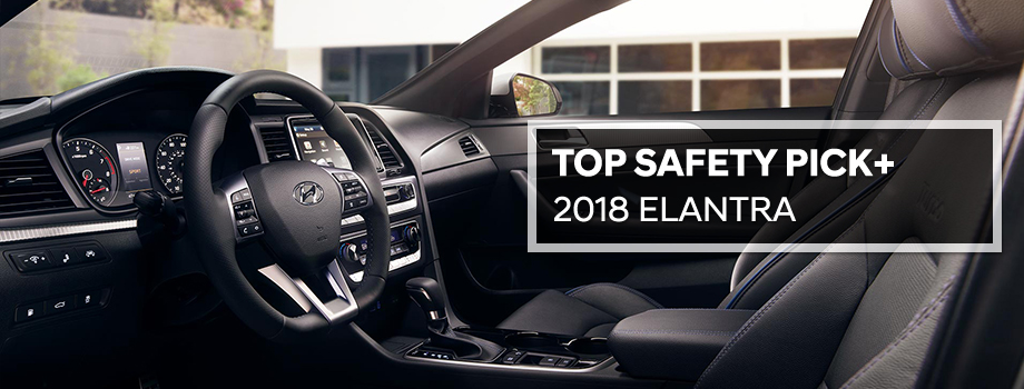 Safety features and interior of the 2018 Hyundai Elantra - available at Lithia Hyundai of Reno near Carson City and Reno, NV