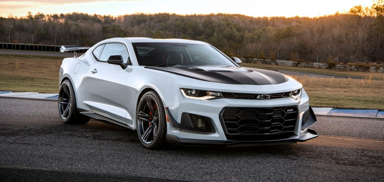 The 2019 Chevy Camaro ZL1 in Lafayette, IN.