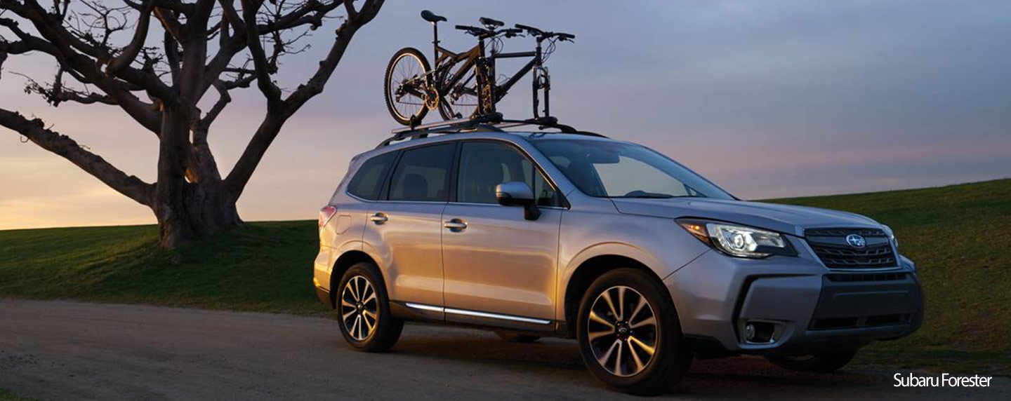 Exterior 2018 Subaru Forester - available at our Subaru dealership near Dillon, Colorado
