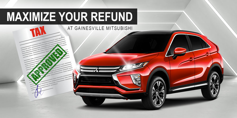 Maximize Your Refund at Gainesville Mitsubishi