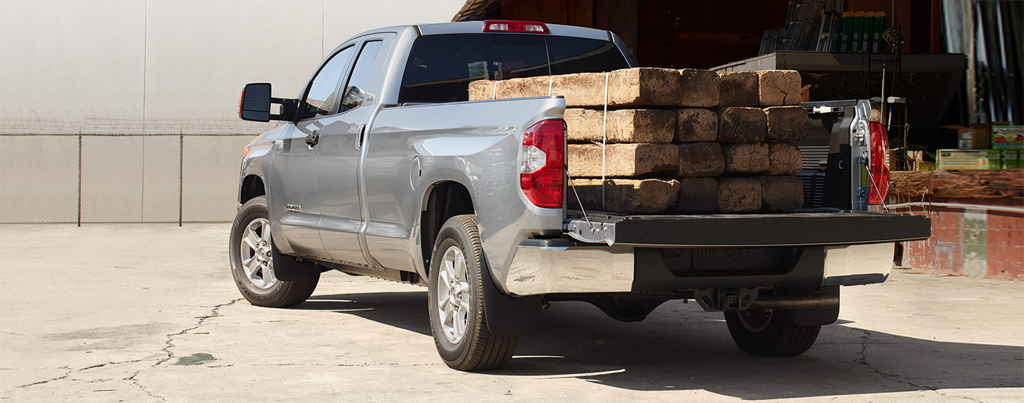 Tundra SR view of truck bed