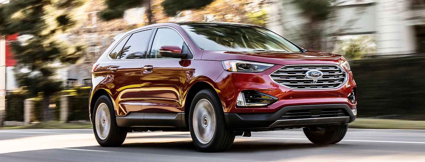 2020 Ford Edge for sale at Marlow Ford in Luray Virginia