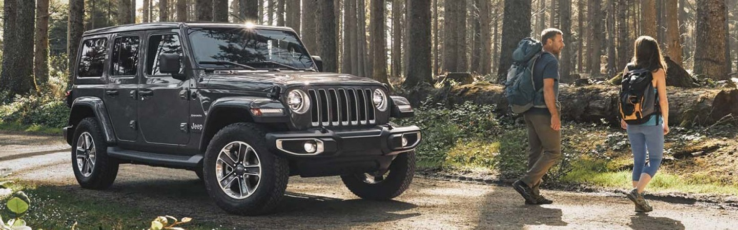 Picture of the 2020 Jeep Wrangler for sale in the forest