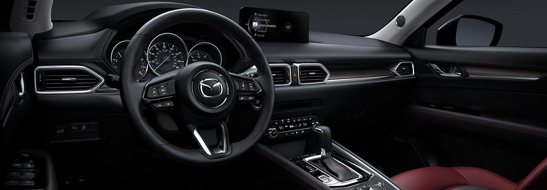 Full interior view of the 2021 Mazda CX-5