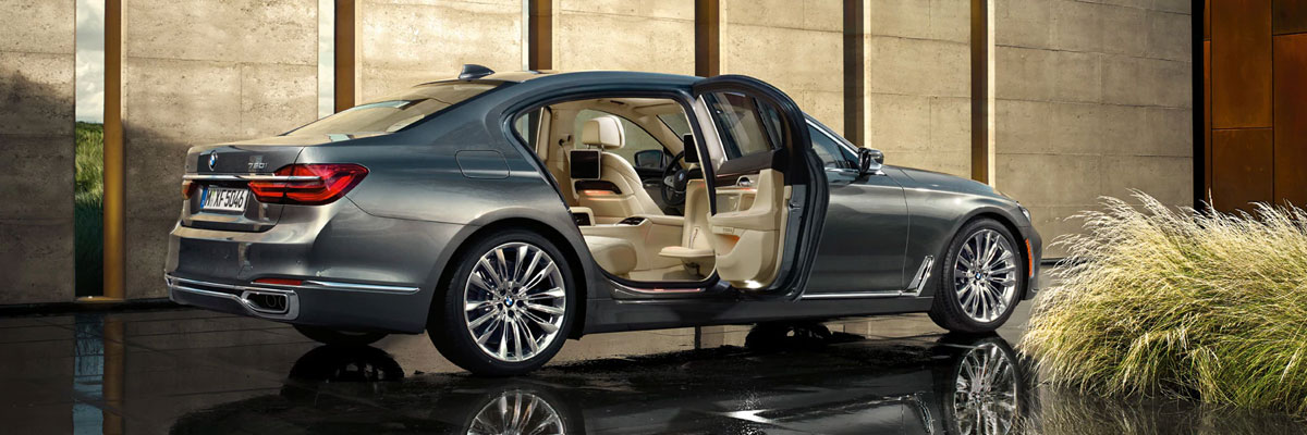 Exterior of the BMW 7 Series at BMW of Columbia in Columbia, SC