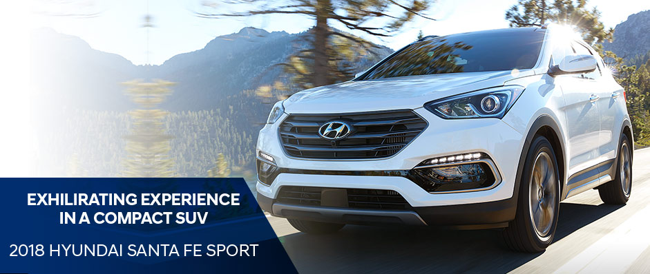 Exhilarating Experience in a Compact SUV | 2018 Hyundai Santa Fe Sport
