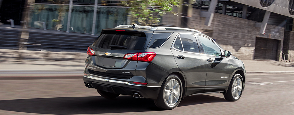 Exterior of the 2019 Chevrolet Equinox - available at our Chevrolet dealership near Lafayette.